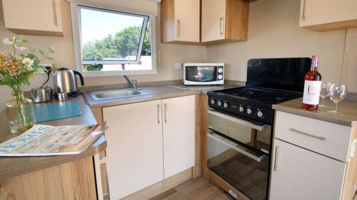 7 Well Equipped Kitchens In Our Caravans At Swanage Coastal Park