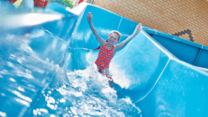1 Flume Slide Child Water