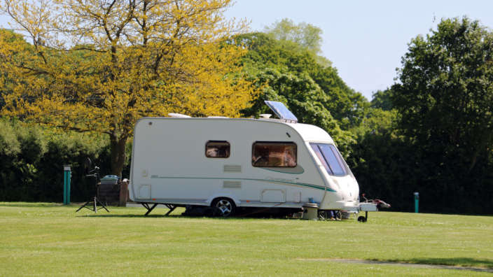 3 Touring Caravan On Spacious Pitch At Wilksworth