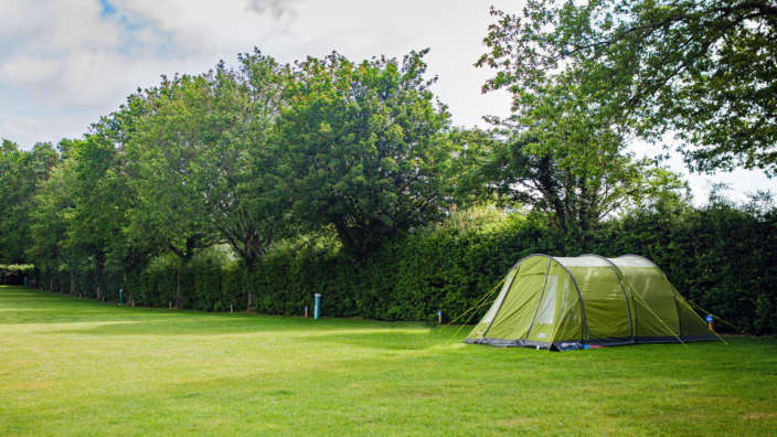Tent only field at wilksworth