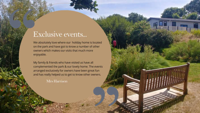 Exclusive Events Holiday Home Owner Quote Testimonial