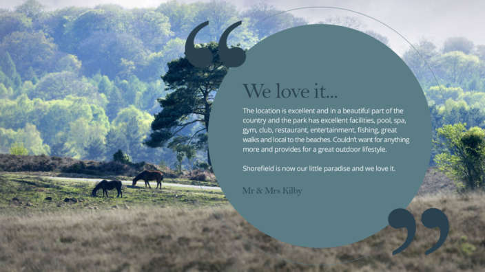 We Love It Holiday Home Owner Quote Testimonial