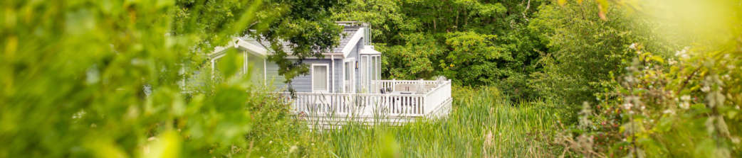 Holiday home in grassland setting with Shorefield Ownership