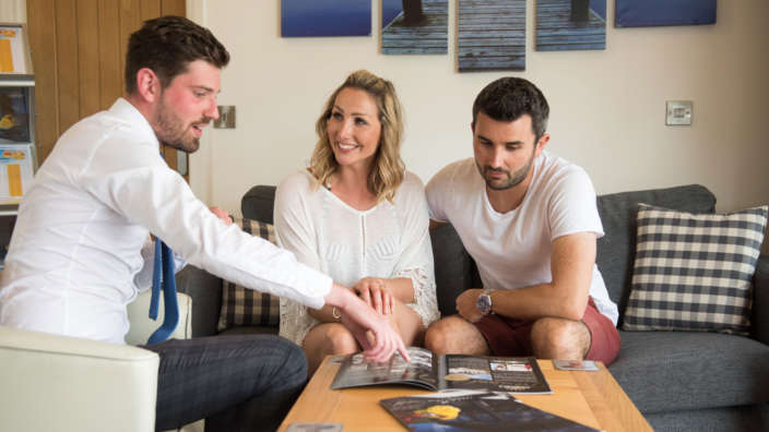 Holiday Home Ownership Couple Starting Journey
