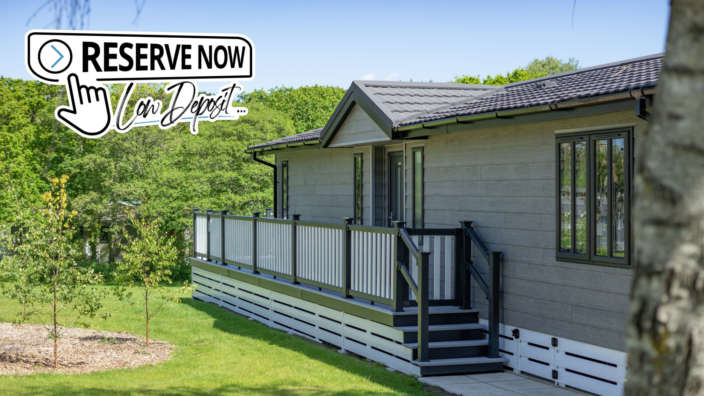 Reserve now low deposit holiday home