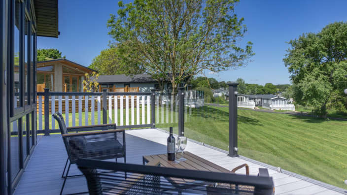 Decking View Lodges Development