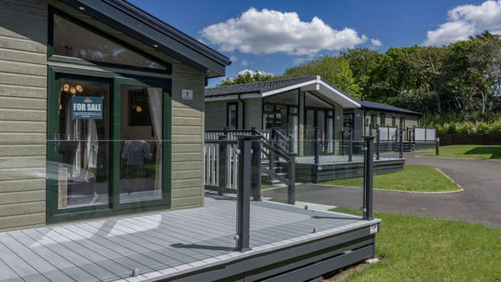 Lodge Decking Development For Sale