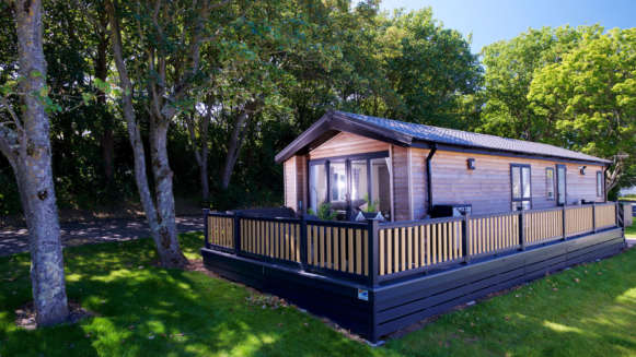 Caravan Holiday Home In Woodland Setting