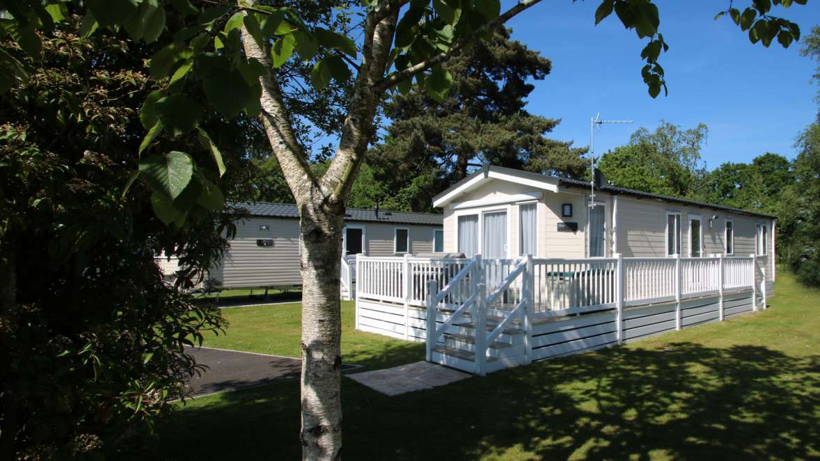 Woodland Caravan Holiday Home Forest Edge