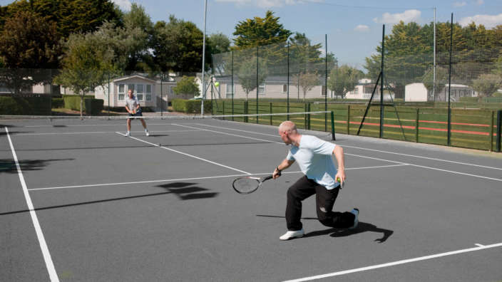 Shorefield Outdoor Tennis Court
