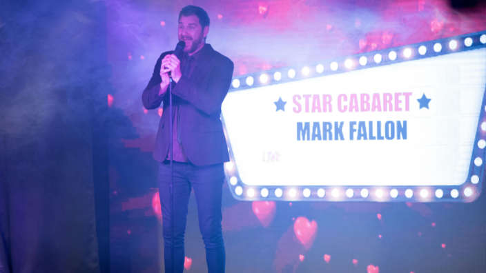 Star Cabaret Performing On Stage At Shorefield Country Park