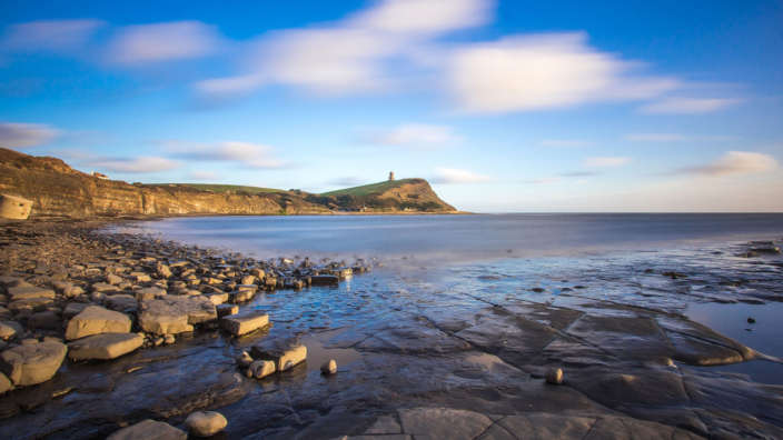 Kimmeridge Bay Swanage Sea