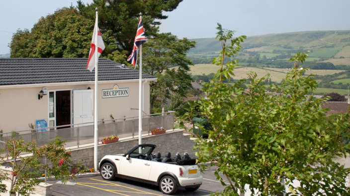 Swanage Reception Purbeck Hills