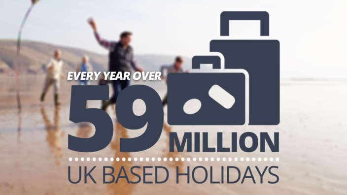 59 Million UK Based Holidays