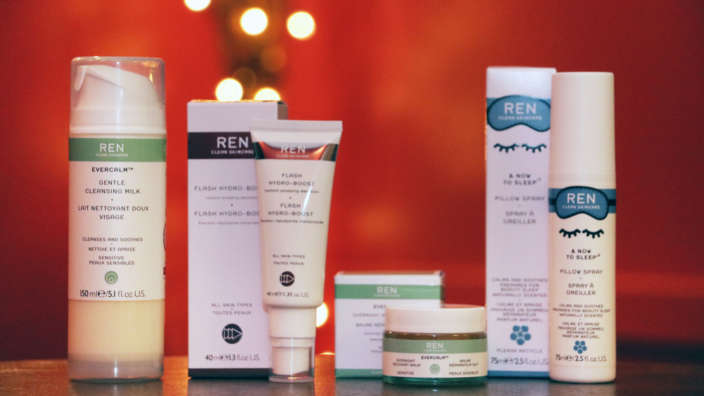 REN products at Reflections Day Spa in Milford on Sea